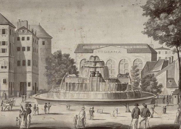 diorama daguerre